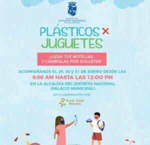 ADN cambiará plásticos por juguetes desde el viernes 29 al domingo 31 próximo