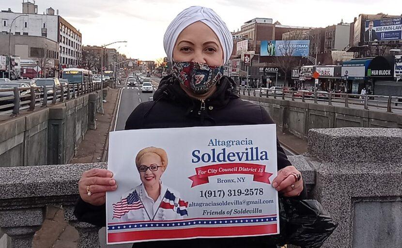 Activista y dirigente del PRM Altagracia Soldevilla se postula para concejala