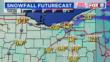 Aire más frío, nieve con efecto lago en dirección al noreste de Ohio
