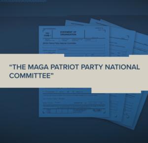 Archivos 'MAGA Patriot Party' con FEC; El equipo de Trump dice que no está afiliado