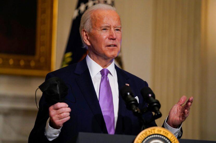 Biden 'recuperando las ventajas' de los informes sobre virus