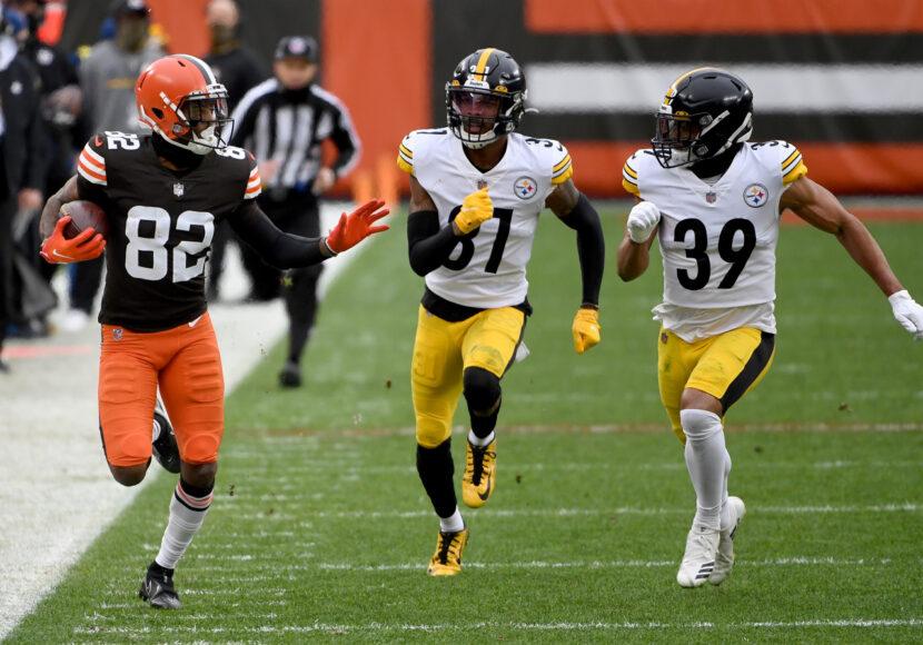 Browns se enfrentará a Steelers en el primer juego de playoffs el próximo domingo por la noche