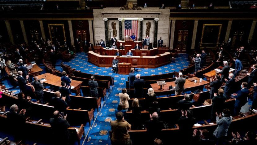 Casi 100 congresistas demócratas apoyan la destitución de Trump vía impeachment tras la violencia de sus partidarios