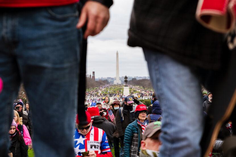 Cierre del Monumento a Washington debido a amenazas de interrumpir la inauguración de Biden