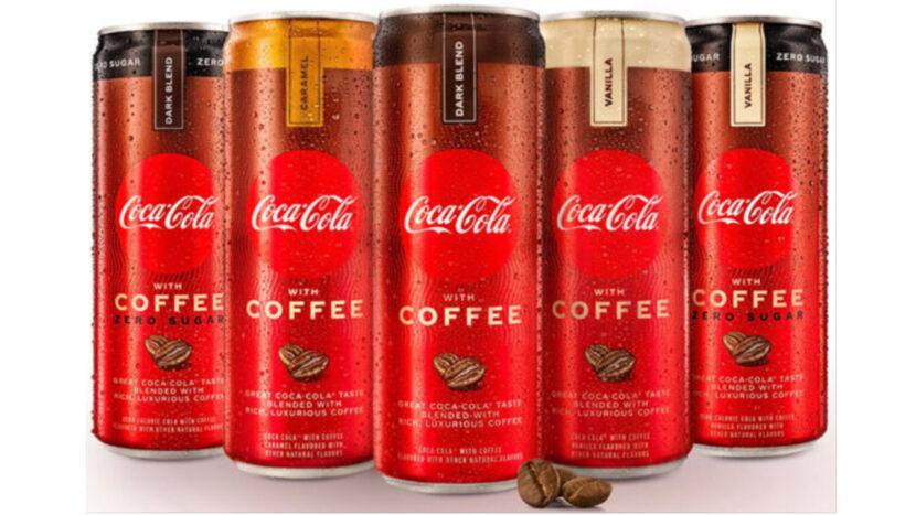 Coca-Cola con café ahora en los estantes de las tiendas