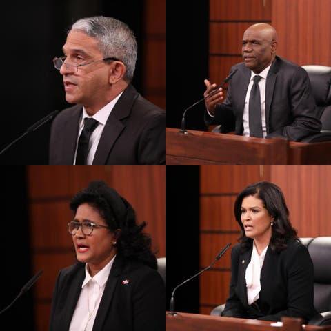 Cuatro nuevos jueces para el TC y confirman a Ortega en la Suprema