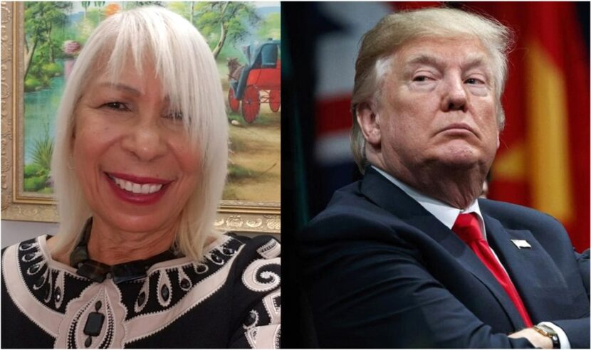 Dirigente republicana dominicana sigue idolatrando a Trump