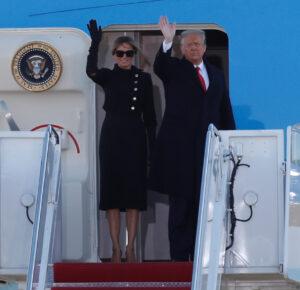 EN VIVO: Trump aterriza en Florida antes de la inauguración de Biden