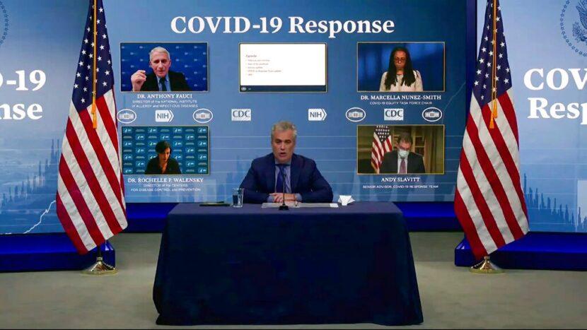 El equipo de respuesta COVID-19 de Biden informará al público después de que se detectó una variante de Sudáfrica