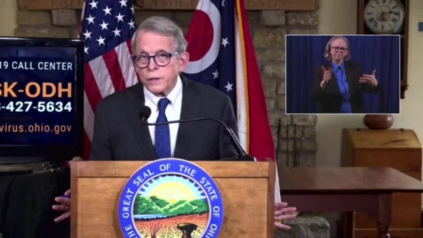El gobernador de Ohio DeWine realizará una conferencia de prensa sobre el COVID-19