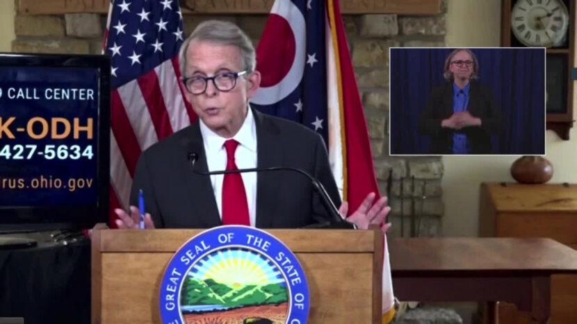 El gobernador de Ohio, Mike DeWine, realiza la primera actualización del coronavirus de 2021