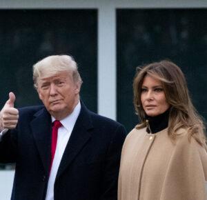 El presidente Donald Trump y la primera dama Melania dejarán la Casa Blanca y serán los anfitriones de la despedida antes de la inauguración