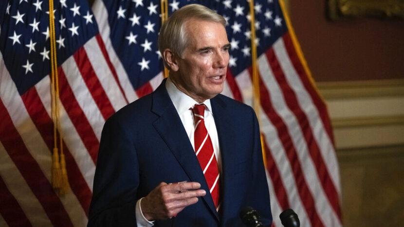 El senador Rob Portman dice que no unirá esfuerzos para desafiar los resultados del Colegio Electoral