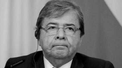 Falleció el ministro de Defensa de Colombia, Carlos Holmes Trujillo,