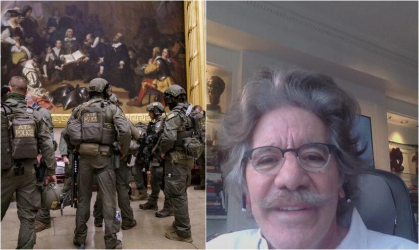 Geraldo dice que los disturbios en el Capitolio 'incitados' por su viejo amigo Trump fueron antidemocráticos, espantosos