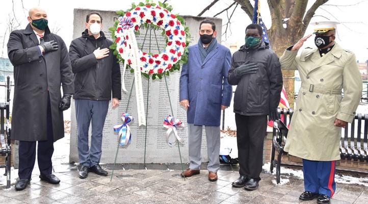 Jaquez y concejal honran a 350 veteranos y héroes de guerra dominicanos