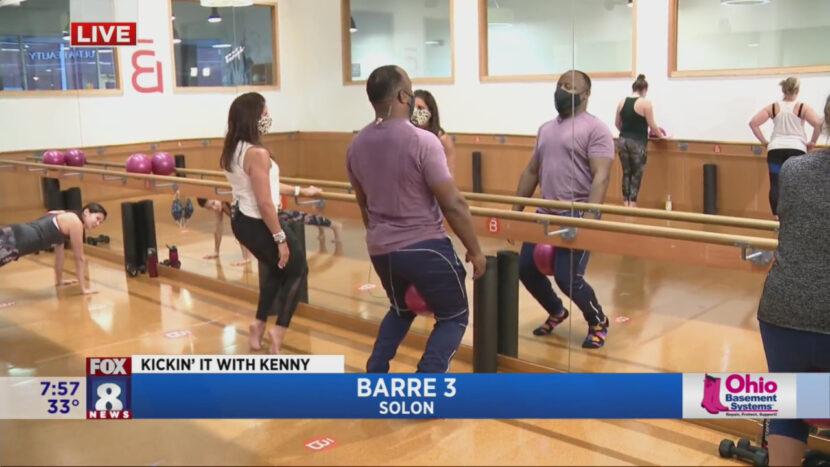 Kenny comienza el año nuevo con un entrenamiento de cuerpo completo