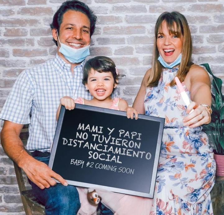 La comunicadora Zeny Leyva será madre por segunda vez