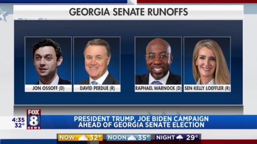 La mayoría del Senado está en juego en la segunda vuelta de Georgia