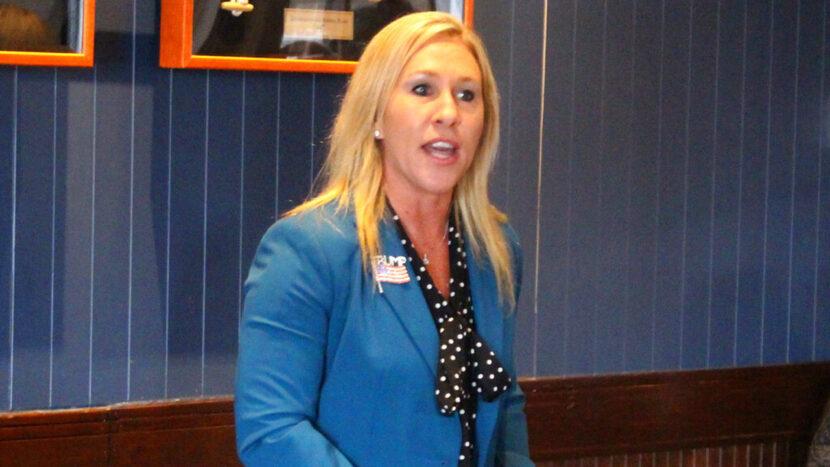 La representante de Georgia Greene dice que planea presentar artículos de acusación contra Biden