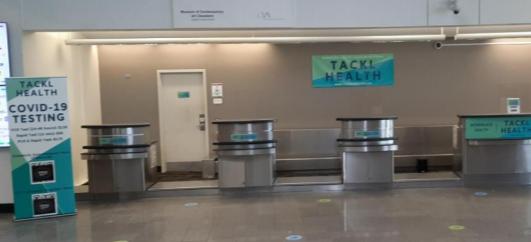 Los resultados de las pruebas de coronavirus se ofrecen en 15 minutos en el Aeropuerto Internacional Cleveland Hopkins