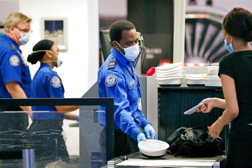 No hay armas en el equipaje para vuelos de DC