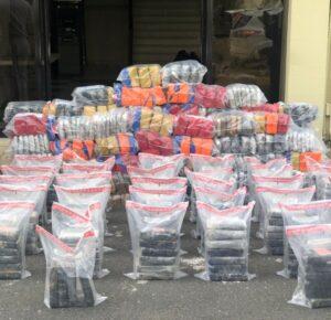 Ocupan 191 paquetes de presumiblemente cocaína y más de 500 pacas de marihuana