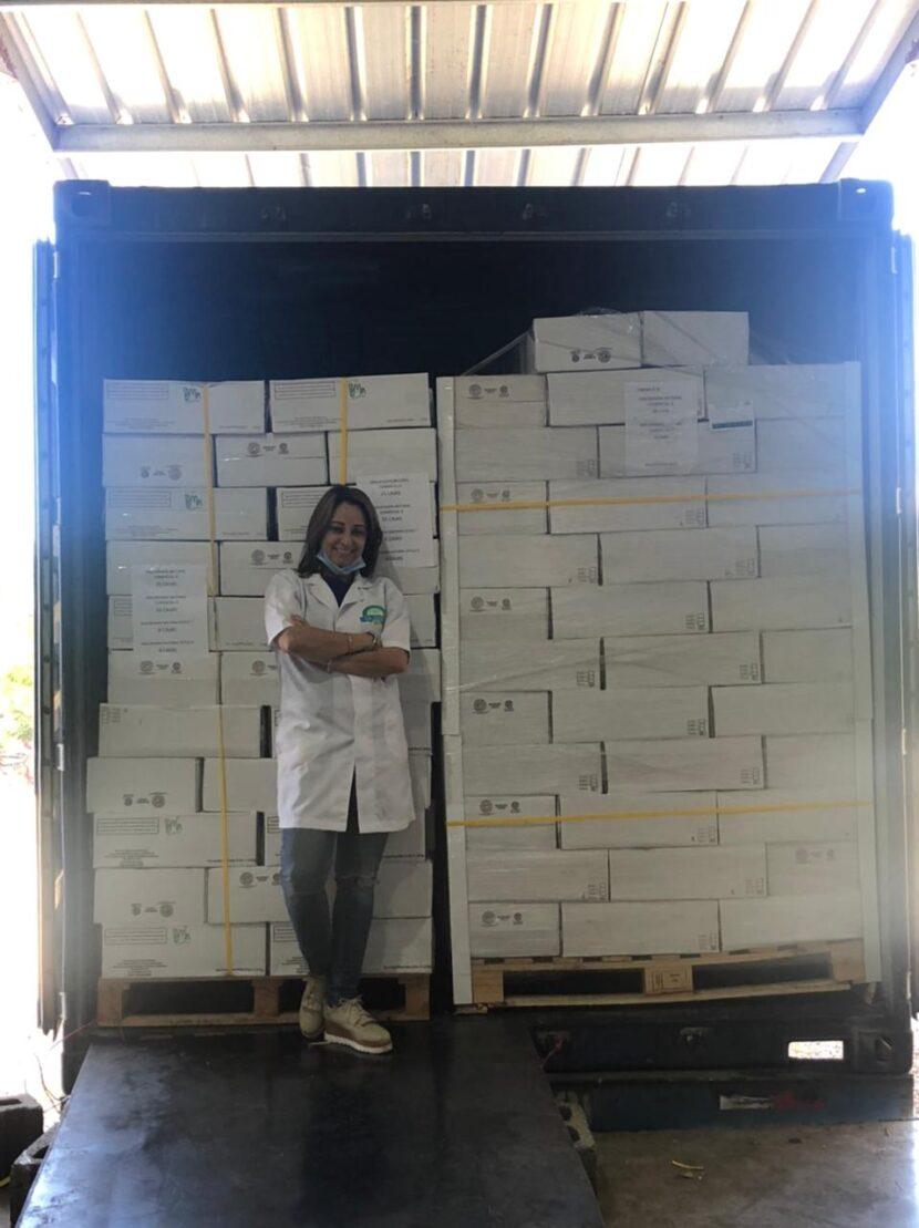 RD realizan primera exportación de macadamia procesada