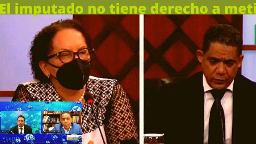 VIDEO; JUEZ ALEXIS GÓMEZ GERALDINO-El imputado no tiene derecho a mentir