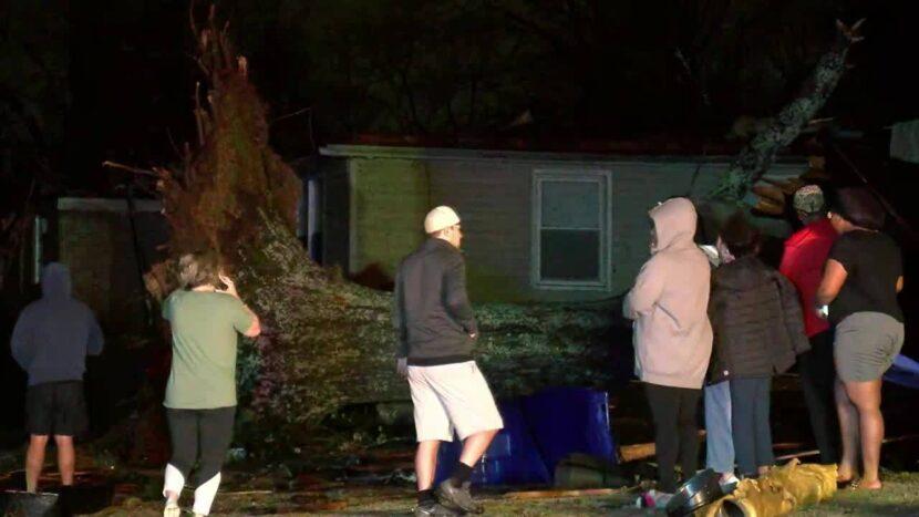 Varias lesiones y viviendas dañadas por tornado en Alabama