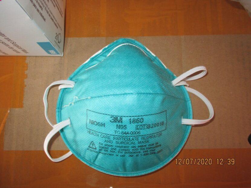 Agentes federales incautan aproximadamente 10 millones de máscaras N95 falsas en la sonda COVID-19