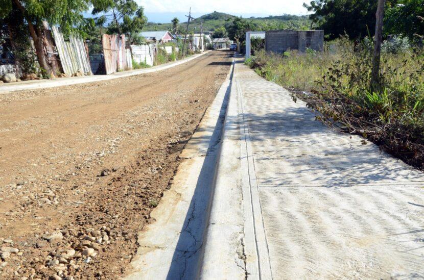 Alcaldía Santiago entrega nuevas obras en la comunidad Las