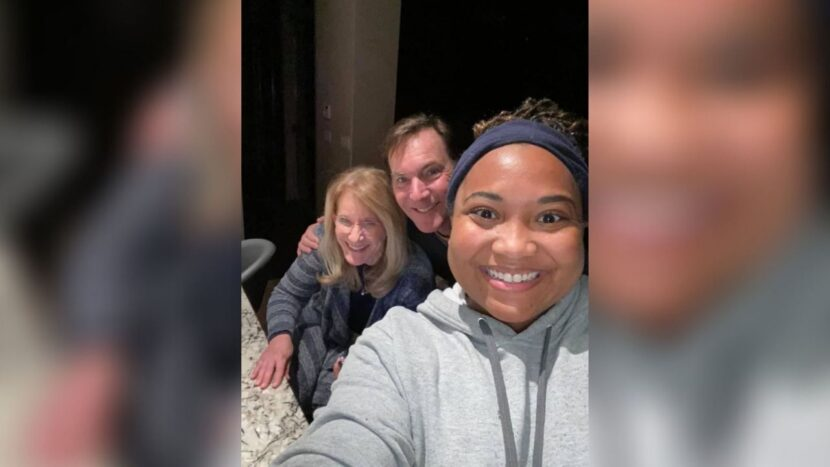 Conductor de reparto de comida de Texas encuentra su casa con su pareja durante las tormentas de invierno