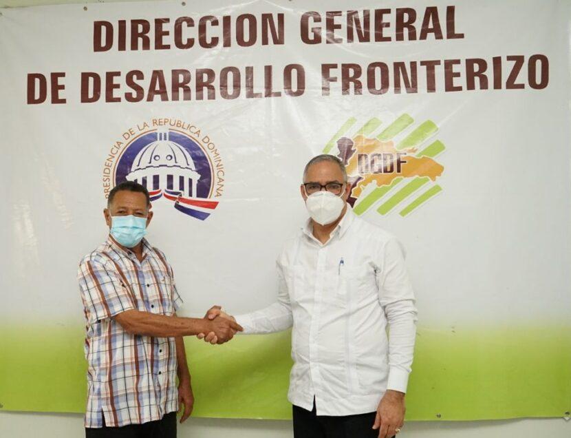 Desarrollo Fronterizo y Asociación de Ganaderos de Partido firman acuerdo de cooperación