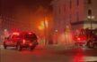 EN VIVO: Bomberos en la escena de un incendio en una estructura en el centro de Elyria