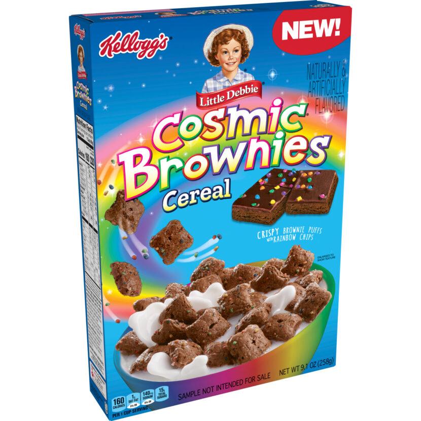 El cereal Cosmic Brownies llegará a los estantes esta primavera
