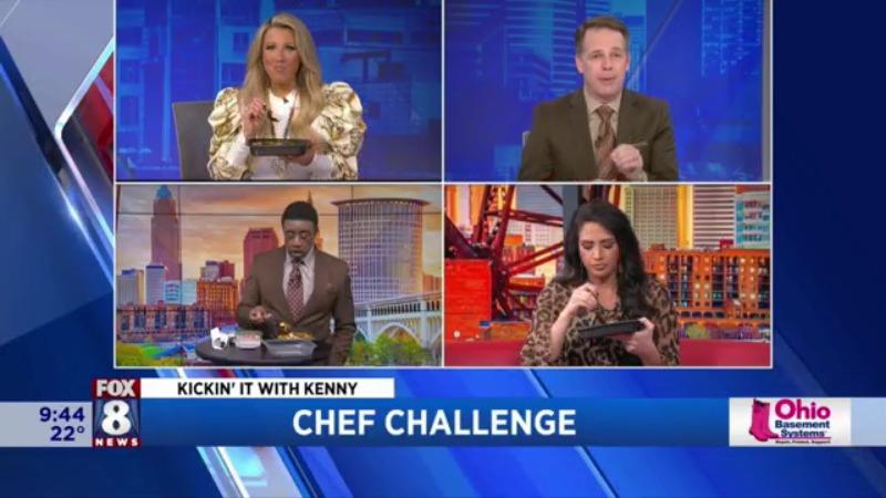 El chef ingrediente secreto de Kenny recibe aplausos de los presentadores de Fox 8 | Cierres y retrasos de Fox 8 Cleveland