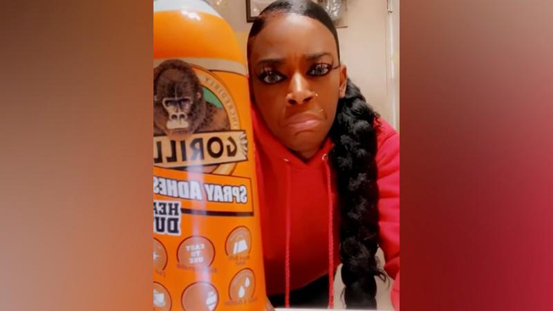 Gorilla Glue, con sede en Ohio, responde a la saga viral de una mujer que usó spray adhesivo en su cabello
