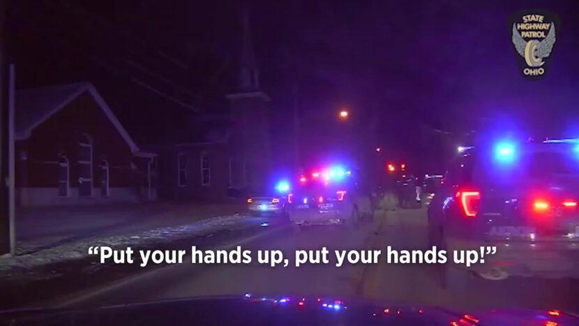 Hombre de Akron arrestado después de secuestrar a una madre de 70 años, lo que lleva a la policía a una persecución a alta velocidad