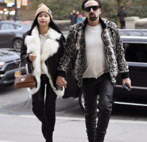 Actor Nicolas Cage se casa en secreto con su novia 30 años menor que él