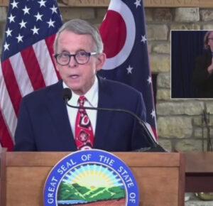 El gobernador de Ohio DeWine entregará una dirección en todo el estado en COVID-19