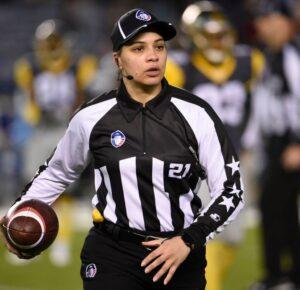 La NFL anuncia la primera mujer funcionaria negra