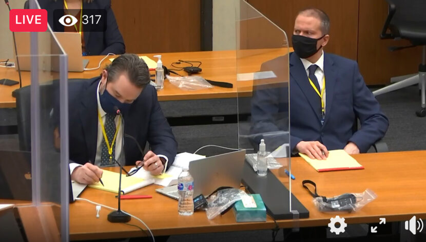 La selección del jurado se detuvo para el ex policía acusado de la muerte de George Floyd