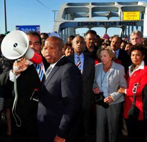 Memorial del Domingo Sangriento en honor a los difuntos gigantes de los derechos civiles en Selma