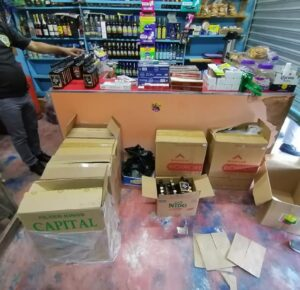 PN en contra del tráfico de mercancías, retiramos 31,884 cigarrillos presuntamente adulterados en SPM