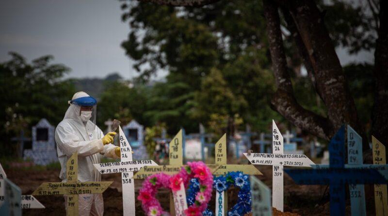 ALERTA:Brasil reportó 4.195 muertes por COVID-19 en las últimas 24 horas, un nuevo récord desde el inicio de la pandemia