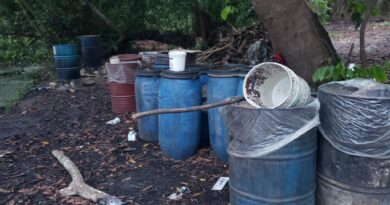 Desmantelados dos laboratorios clandestinos de producción de clerén en Monte Plata y Barahona