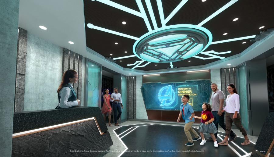 Disney Wish - Comidas familiares - Worlds of Marvel