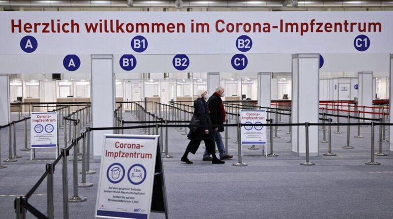El centro de vacunación de Hamburgo está lleno en Semana Santa