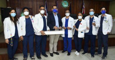 Fundación Dominicana de Urología (FUNDOURO) Dr. Pablo Mateo dona equipos a la residencia de Urología del Hospital Central de las Fuerzas Armadas